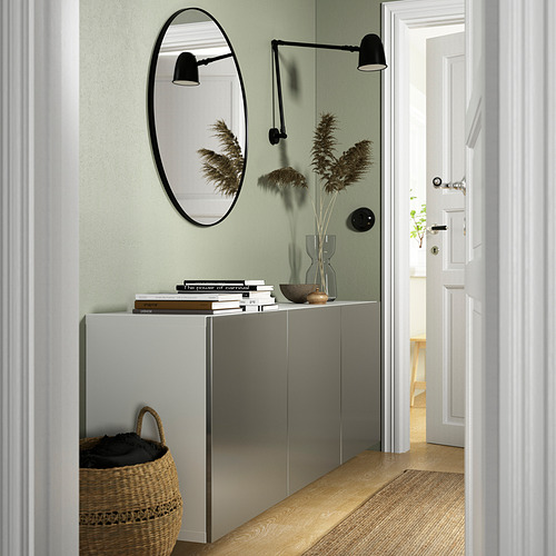 BESTÅ - 上牆式貯物組合, white/Riksviken light bronze effect   IKEA 香港及澳門 - PE837980_S4
