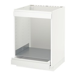 METOD/MAXIMERA - 爐具及焗爐用地櫃連抽屜, white/Voxtorp matt white | IKEA 香港及澳門 - PE588764_S3
