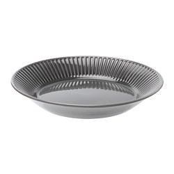 STRIMMIG - 上菜碟, 粗陶器 灰色, 29 厘米 | IKEA 香港及澳門 - PE739785_S3