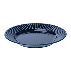 STRIMMIG - 餐用小碟, 粗陶器 藍色, 21 厘米 | IKEA 香港及澳門 - PE739787_S3