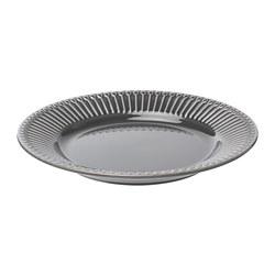 STRIMMIG - 餐用小碟, 粗陶器 灰色, 21 厘米 | IKEA 香港及澳門 - PE739789_S3