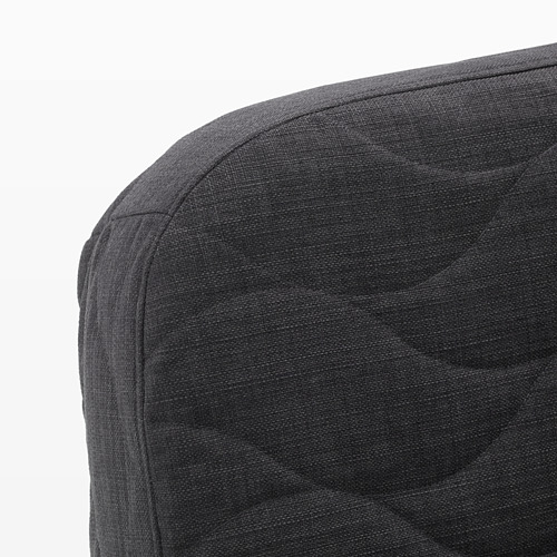NYHAMN - 3-seat sofa-bed, with pocket spring mattress/Skiftebo anthracite | IKEA Hong Kong and Macau - PE641242_S4