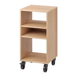RÅVAROR - shelving unit on castors, oak veneer | IKEA Hong Kong and Macau - PE778334_S3