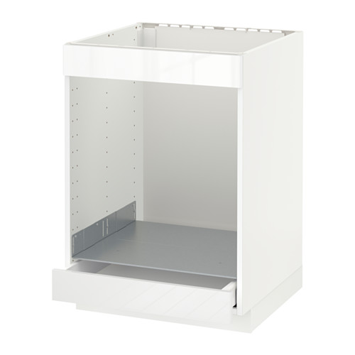 METOD/MAXIMERA - base cab for hob+oven w drawer, white/Ringhult white | IKEA Hong Kong and Macau - PE588846_S4