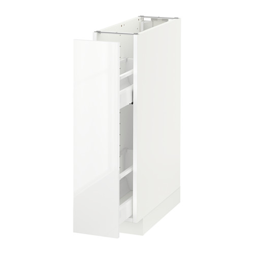 METOD base cabinet/pull-out int fittings
