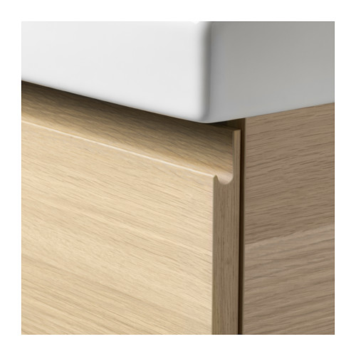 ODENSVIK/GODMORGON - wash-stand with 2 drawers, white stained oak effect/Dalskär tap | IKEA Hong Kong and Macau - PE649380_S4
