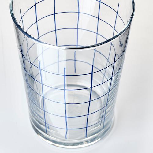 SPORADISK - glass, clear glass/check pattern   IKEA Hong Kong and Macau - PE739824_S4