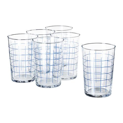 SPORADISK - glass, clear glass/check pattern   IKEA Hong Kong and Macau - PE739823_S4