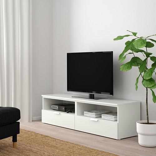 PLATSA - TV bench with drawers, white/Fonnes white | IKEA Hong Kong and Macau - PE792712_S4