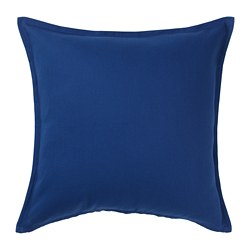 GURLI - cushion cover, dark blue | IKEA Hong Kong and Macau - PE697214_S3