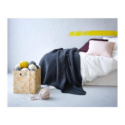 VÅRELD - bedspread, dark grey | IKEA Hong Kong and Macau - PH145579_S4