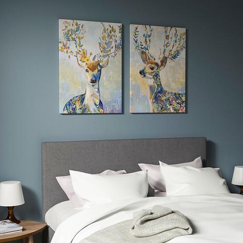 PJÄTTERYD - 畫, 斑駁小鹿 | IKEA 香港及澳門 - PE740016_S4