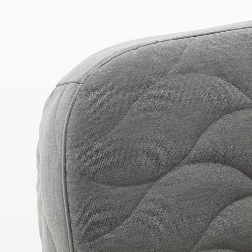 NYHAMN - 3-seat sofa-bed, with pocket spring mattress/Knisa grey/beige | IKEA Hong Kong and Macau - PE641238_S4