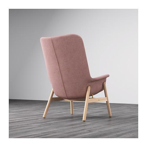 VEDBO - high-back armchair, Gunnared light brown-pink | IKEA Hong Kong and Macau - PE649544_S4