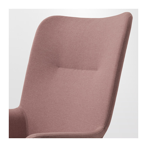 VEDBO - high-back armchair, Gunnared light brown-pink | IKEA Hong Kong and Macau - PE649542_S4
