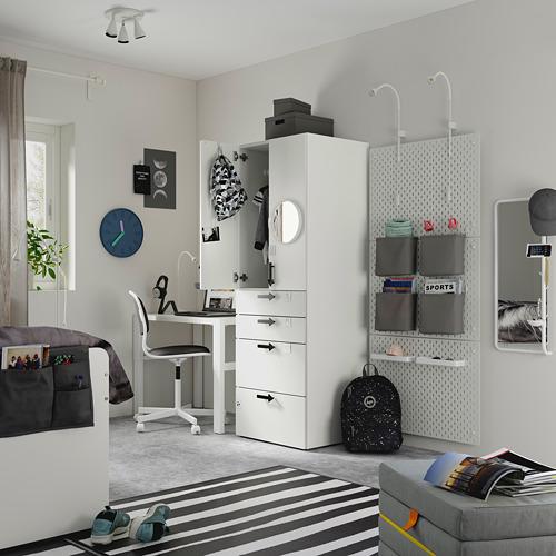 PLATSA/SMÅSTAD wardrobe