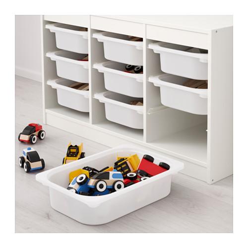 TROFAST - storage combination with boxes, white/white | IKEA Hong Kong and Macau - PE649620_S4