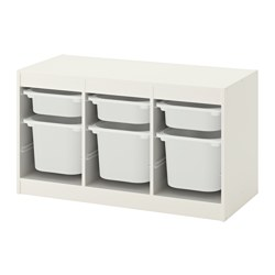 TROFAST - storage combination with boxes, white/white | IKEA Hong Kong and Macau - PE649629_S3
