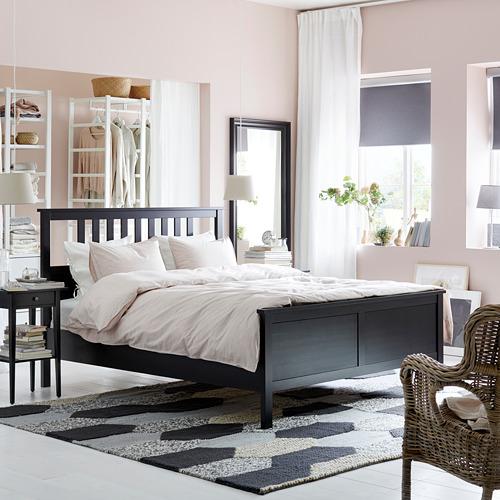 HEMNES - bed frame, black-brown | IKEA Hong Kong and Macau - PE740107_S4