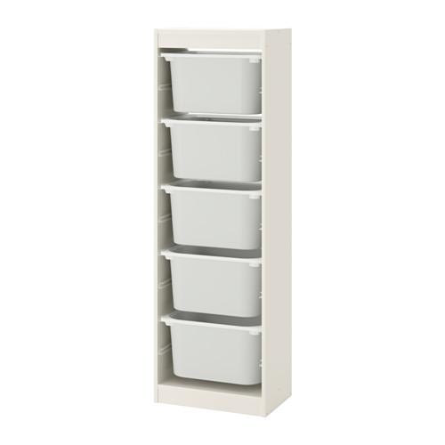 TROFAST - storage combination with boxes, white/white   IKEA Hong Kong and Macau - PE649638_S4