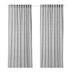 HILJA - curtains, 1 pair, grey | IKEA Hong Kong and Macau - PE649658_S3