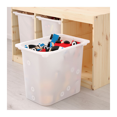 TROFAST - storage combination with boxes, light white stained pine/white | IKEA Hong Kong and Macau - PE649663_S4