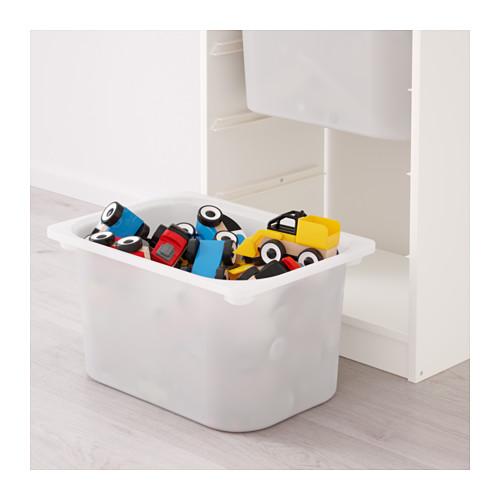 TROFAST - storage combination with boxes, white/white | IKEA Hong Kong and Macau - PE649687_S4