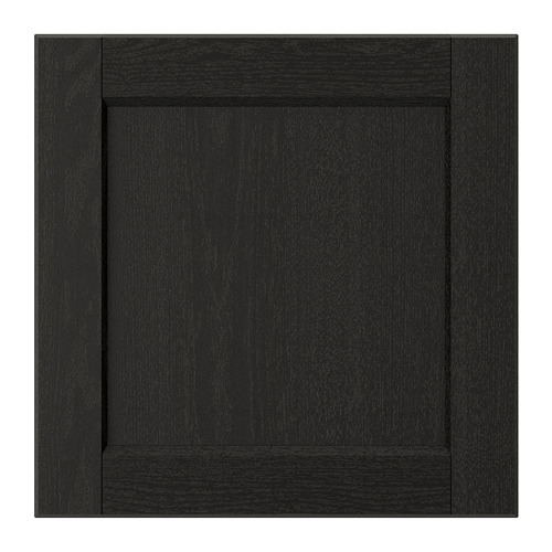 LERHYTTAN - door, black stained | IKEA Hong Kong and Macau - PE697410_S4
