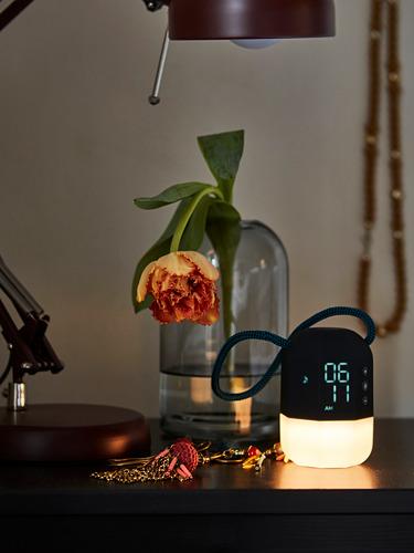 FNURRA - alarm clock/wake-up light, grey | IKEA Hong Kong and Macau - PH170684_S4