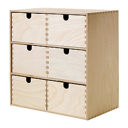MOPPE - 小型抽屜櫃, 樺木夾板 | IKEA 香港及澳門 - PE292947_S3