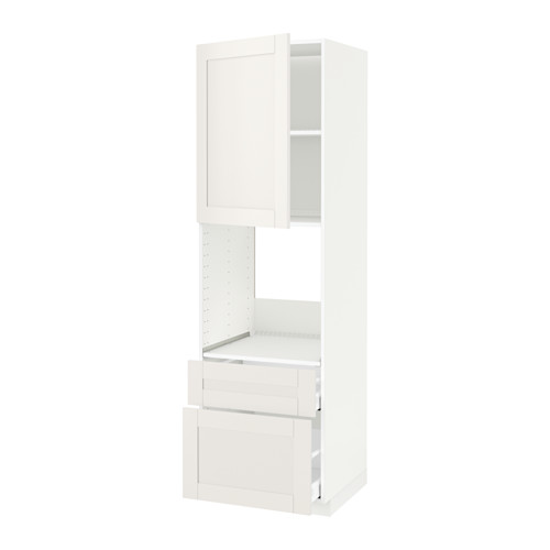 METOD/MAXIMERA - hi cab f ov w dr/2 frnt/1 m/1 h drw, white/Sävedal white   IKEA 香港及澳門 - PE524552_S4