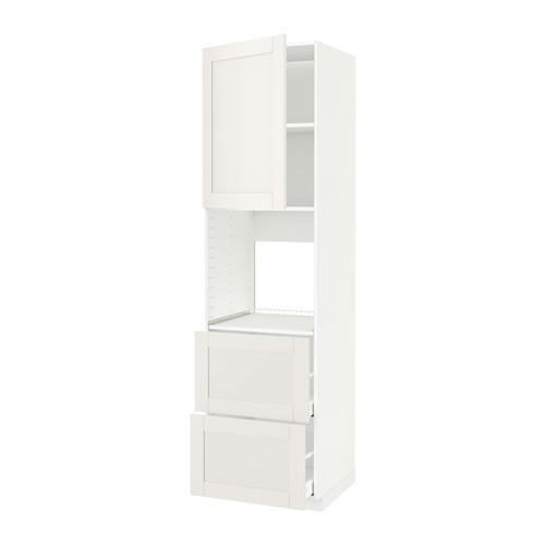 METOD/MAXIMERA - hi cab f ov w dr/2 frnts/2 hi drwrs, white/Sävedal white | IKEA Hong Kong and Macau - PE524573_S4