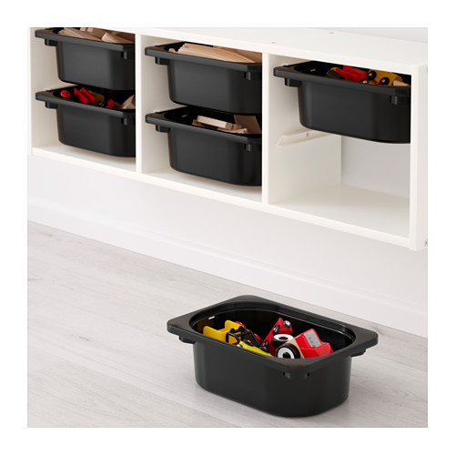 TROFAST - wall storage, white/black | IKEA Hong Kong and Macau - PE649706_S4