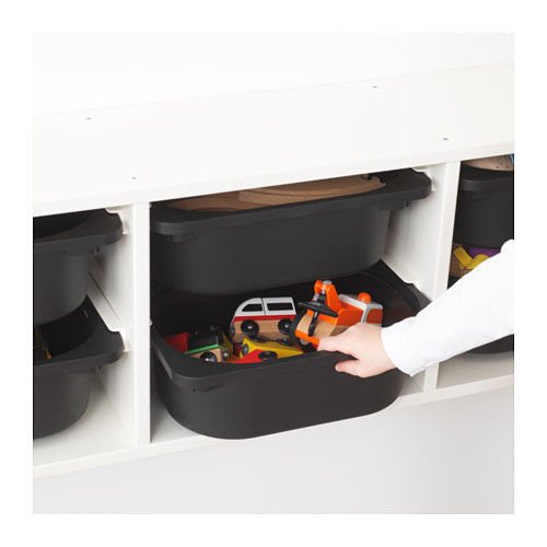 TROFAST - wall storage, white/black | IKEA Hong Kong and Macau - PE649705_S4