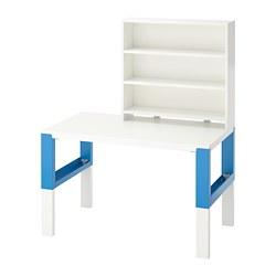 PÅHL - desk with shelf unit, white/blue | IKEA Hong Kong and Macau - PE740277_S3