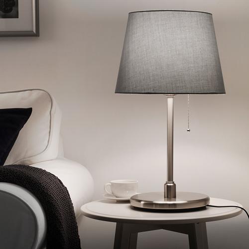 KRYSSMAST - 座檯燈座, 鍍鎳   IKEA 香港及澳門 - PE740266_S4