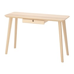 LISABO - desk, 118x45x74 cm, ash veneer | IKEA Hong Kong and Macau - PE740306_S3