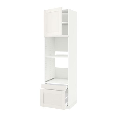 METOD/MAXIMERA - hi cab f ov/combi ov w dr/2 drwrs, white/Sävedal white | IKEA 香港及澳門 - PE524606_S4