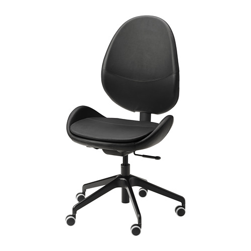 HATTEFJÄLL - 辦公椅, Smidig 黑色   IKEA 香港及澳門 - PE740332_S4