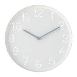 TROMMA - wall clock, white | IKEA Hong Kong and Macau - PE778497_S3