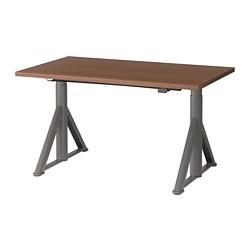 IDÅSEN - 升降式書檯, 120x70cm, 褐色/深灰色 | IKEA 香港及澳門 - PE697689_S3