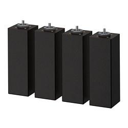 BRENNÅSEN - 床腳, 染黑色 | IKEA 香港及澳門 - PE697707_S3