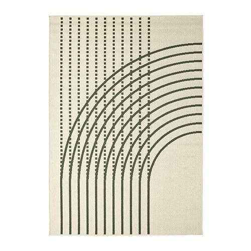 TÖMMERBY - 室內/戶外用平織地氈, dark green/off-white | IKEA 香港及澳門 - PE793148_S4