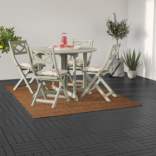 LYDERSHOLM - rug flatwoven, in/outdoor, medium brown | IKEA Hong Kong and Macau - PE793166_S4