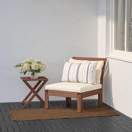 LYDERSHOLM - rug flatwoven, in/outdoor, medium brown | IKEA Hong Kong and Macau - PE793162_S4