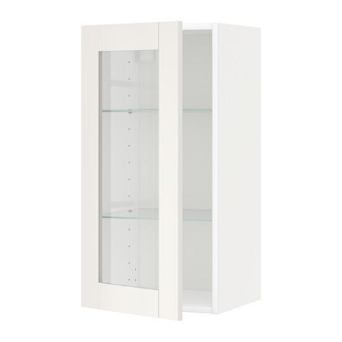 METOD - wall cabinet w shelves/glass door, white/Sävedal white   IKEA Hong Kong and Macau - PE524637_S4