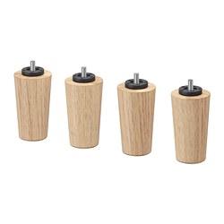 BRYNILEN - 床腳, 橡木 | IKEA 香港及澳門 - PE697718_S3