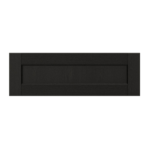 LERHYTTAN - drawer front, black stained | IKEA Hong Kong and Macau - PE697784_S4