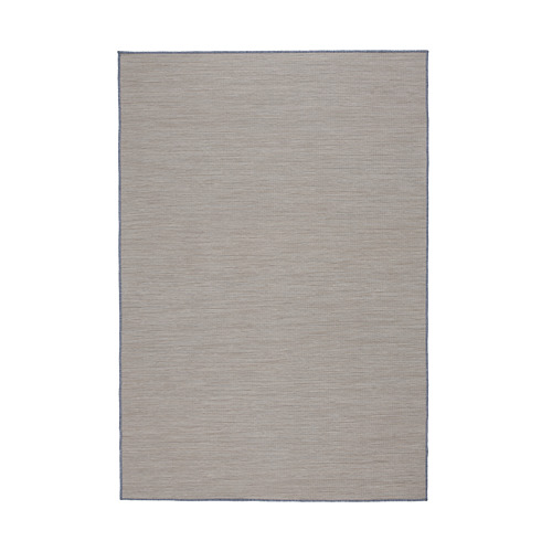 VRENSTED - rug flatwoven, in/outdoor, beige/light blue | IKEA Hong Kong and Macau - PE793187_S4