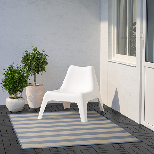VRENSTED - rug flatwoven, in/outdoor, beige/light blue | IKEA Hong Kong and Macau - PE793189_S4